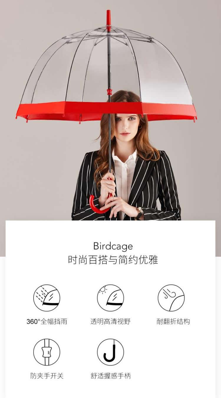 阿波罗透明伞