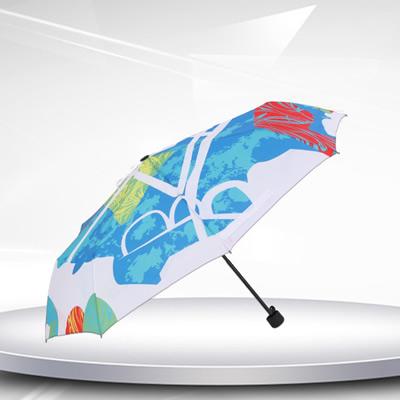 数码印折叠伞